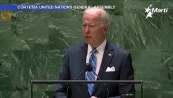 Presidente Biden dice que activistas en Cuba y Venezuela mantienen viva la democracia