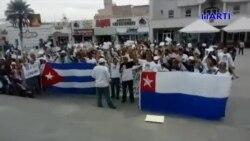 Marcha por la paz tuvo lugar en en el puente internacional Reynosa-Hidalgo