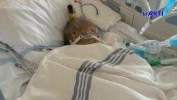 Xiomara Cruz Miranda se encuentra en cuidado intensivos