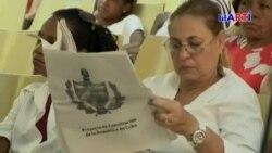 Texto de la nueva Constitución circula entre los cubanos