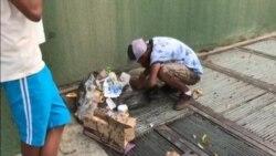 Venezolanos recurren a la basura para alimentarse