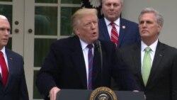 Trump dice que cierre de gobierno podría ser por largo tiempo