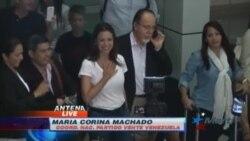 """María Corina Machado: Viene """"la hora cero"""" para Venezuela"""