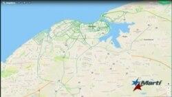 Mapa tridimensional de la Ciudad de La Habana