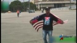 Imágenes de cubano arrestado por protesta el 1 de Mayo dan la vuelta al mundo