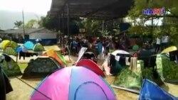 Panamá desplaza a cubanos y otros migrantes