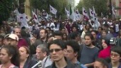 Miles marcharon en México a 50 años de masacre de Tlatelolco