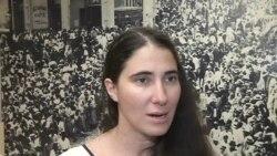 Yoani Sánchez habla sobre la sociedad civil cubana