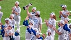 Los Dodgers de los Ángeles avanzaron a la serie mundial donde se enfrentaran a los Tampa Rays