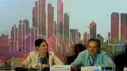 Participa Yoani Sánchez en panel de la SIP