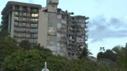 Se derrumba unedificiode apartamentos de 12 plantas enMiamiBeach