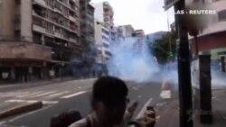 Protestas en Venezuela por la falta de alimentos