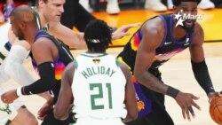 Los Bucks de Milwaukee a solo un triunfo más de ganar el título de la NBA