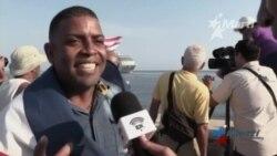 Llegada del crucero Adonia pone una sonrisa en los labios de los cubanos