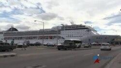 Cubanos de la isla reciben de buena gana primer crucero de EEUU en 50 años