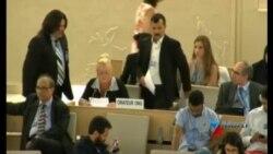 Intervención de Rosa Rodriguez en Consejo de DD.HH. en Ginebra