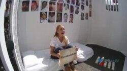 Familiares piden libertad para presos políticos en Venezuela