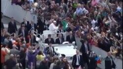 El Papa recomienda a EEUU y Cuba expandir sus relaciones