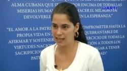 Conozca la historia de una de las opositoras más jóvenes de la isla