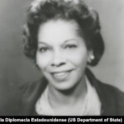Barbara M. Watson (Colección del Museo Nacional de la Diplomacia Estadounidense)