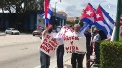 Caravana en Miami en respaldo a Patria y Vida