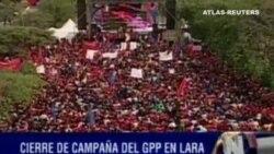Recta final para las elecciones venezolanas del domingo