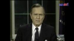 George H. W. Bush, un héroe de EEUU