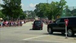 Caravana con restos de McCain llega a Annapolis para entierro privado